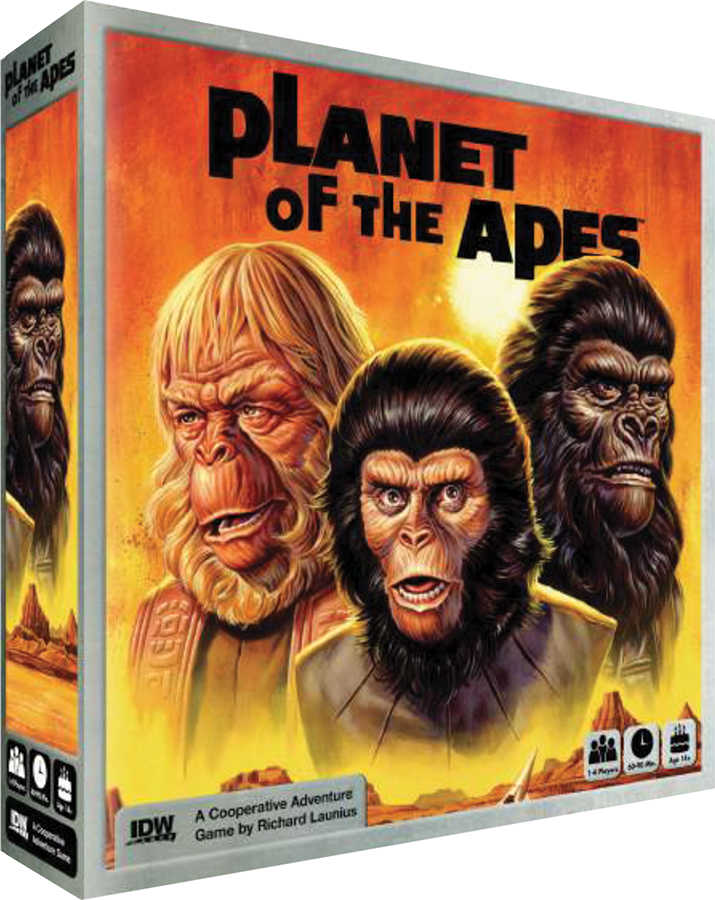 Planet Of The Apes Game Box Front