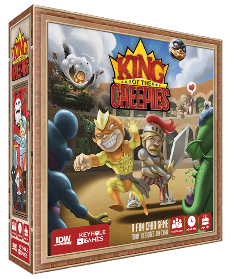 King Of The Creepies Box Front