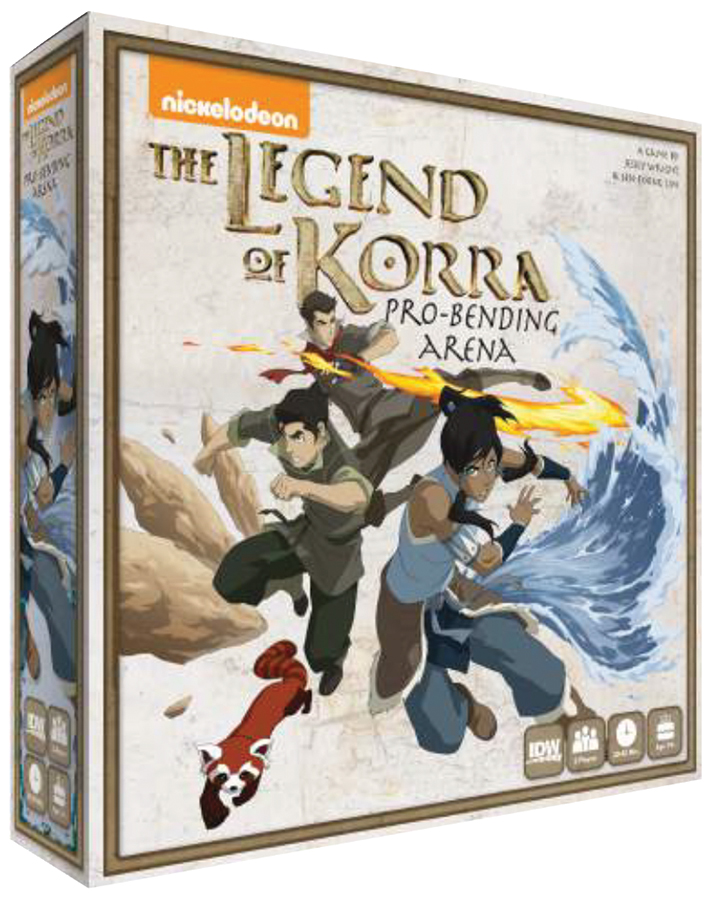 The Legend Of Korra: Pro Bending Arena Box Front
