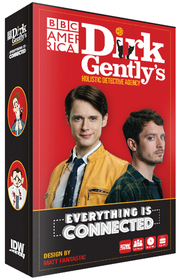 Everything Is Connected: Dirk Gently`s Holistic Detective Agency Box Front