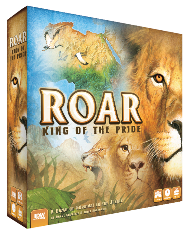 Roar: King Of The Pride Box Front