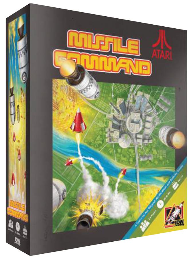 Missile Command (atari) Box Front