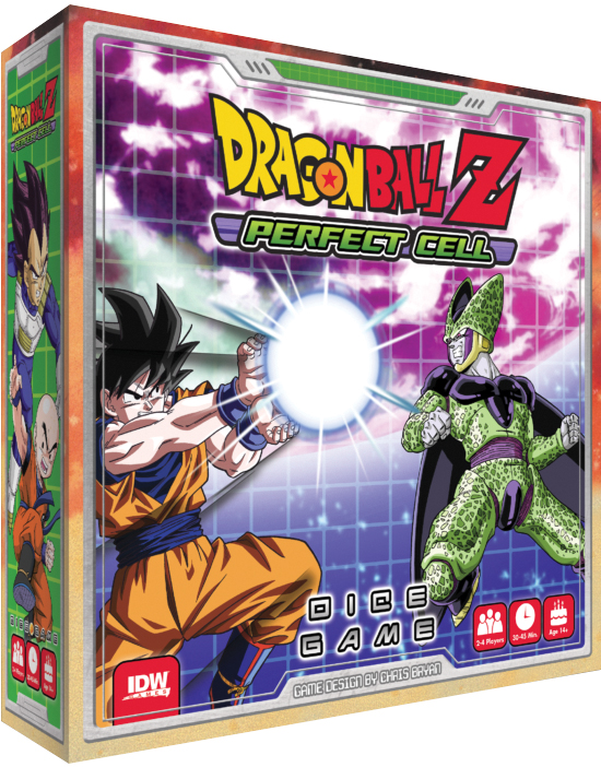 Dragon Ball Z: Perfect Cell Dice Game Box Front