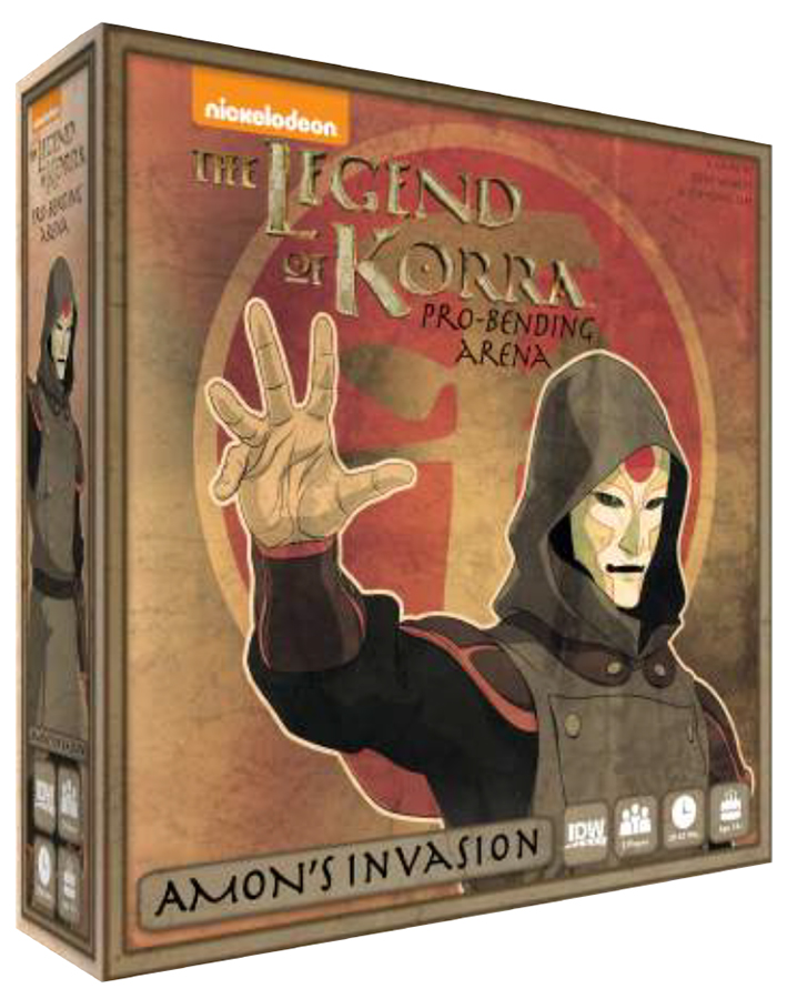 The Legend Of Korra: Pro Bending Arena- Amon`s Invasion Expansion Box Front
