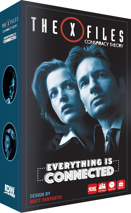 The X Files: Conspiracy Theory Box Front