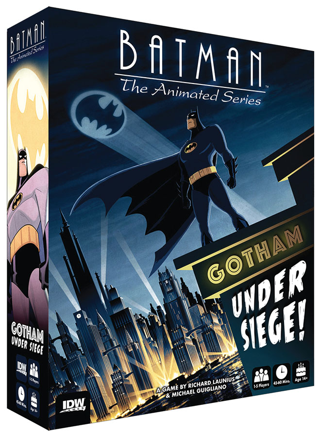 Batman: The Animated Series, Gotham Under Siege Box Front