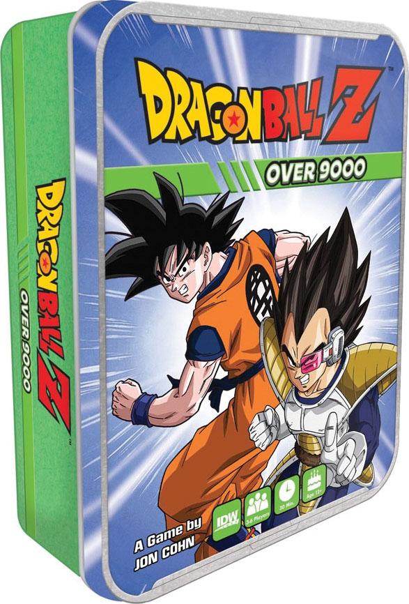 Dragon Ball Z: Over 9000! Game Box