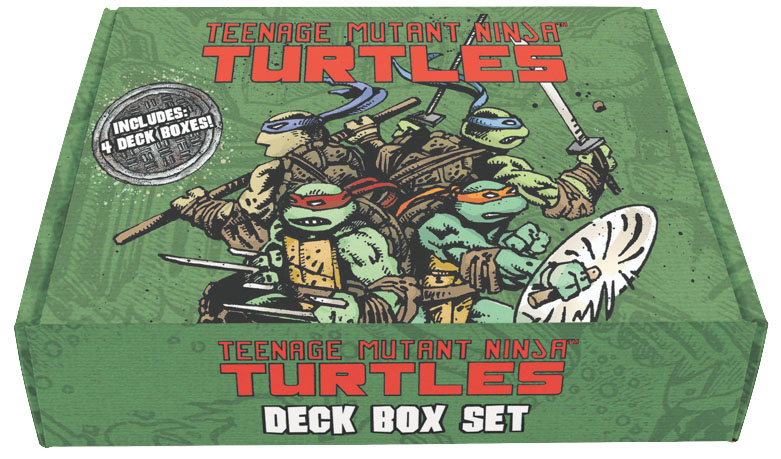 Teenage Mutant Ninja Turtles Deck Box Set (4) Box Front