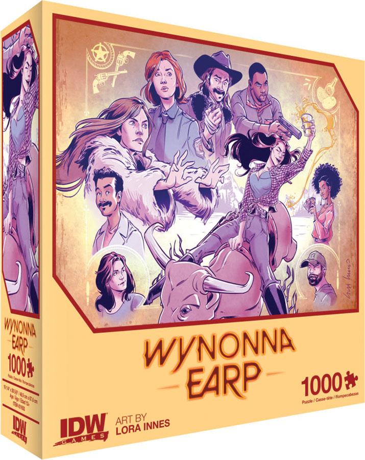 Wynonna Earp Thirsty Cowgirl Premium 1000 Piece Puzzle  Game Box