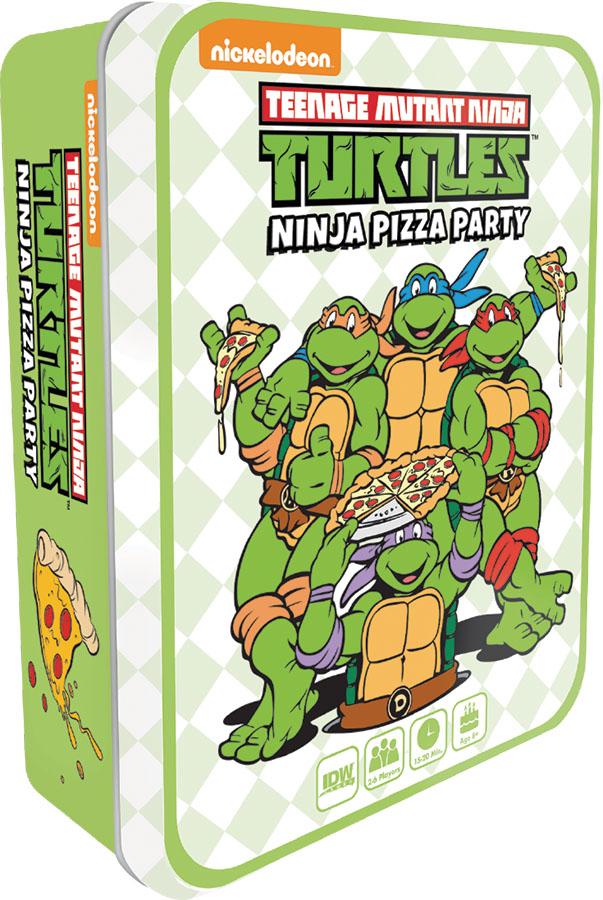 Teenage Mutant Ninja Turtles: Ninja Pizza Party Game Box
