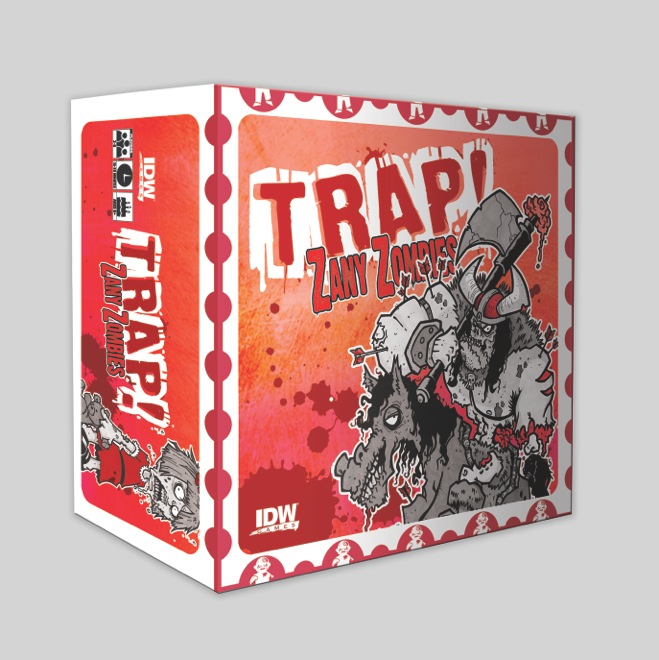 Trap! Zany Zombies Box Front