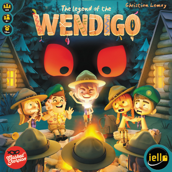 The Legend Of The Wendigo Box Front