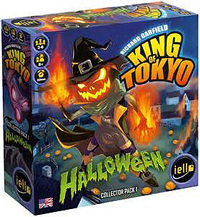 King Of Tokyo: The Halloween Monster Pack Expansion Box Front
