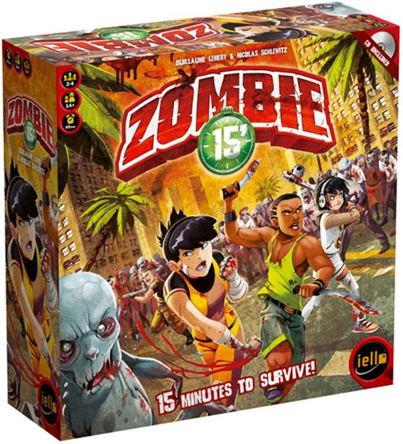 Zombie 15 Box Front