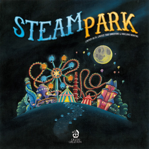 Steam Park Box Front