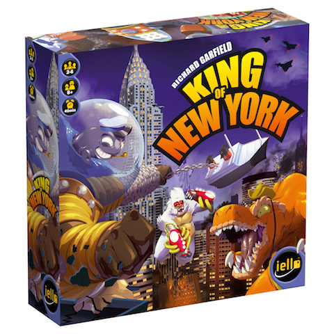 King Of New York Box Front