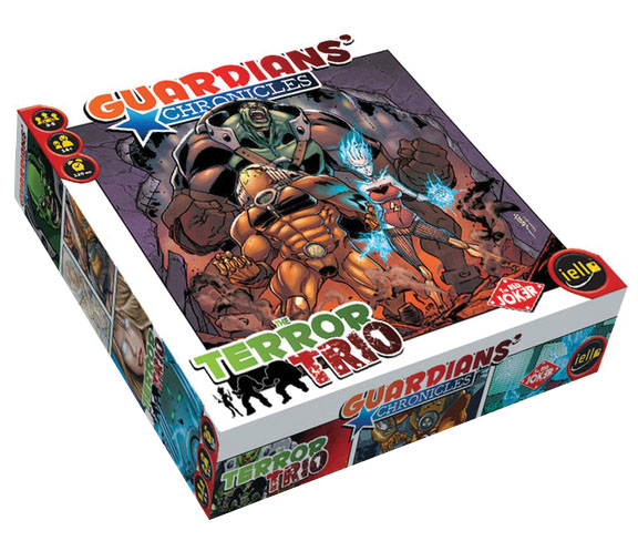 Guardians Chronicles: Terror Trio Box Front