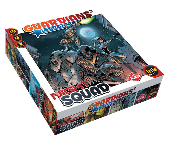 Guardians Chronicles: Night Squad Box Front