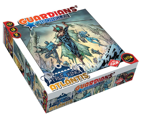 Guardians Chronicles: True King Of Atlantis Box Front