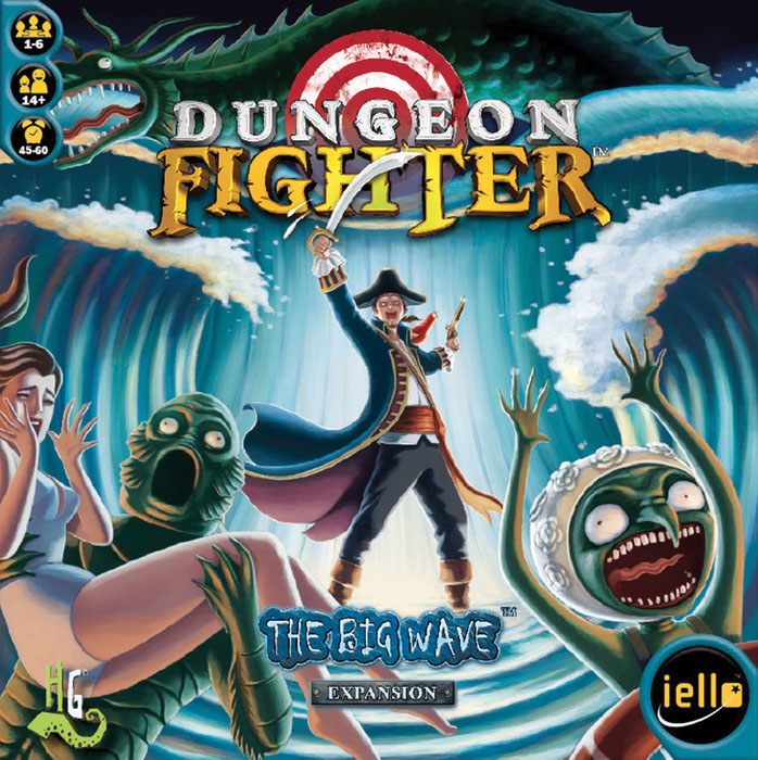 Dungeon Fighter: The Big Wave Box Front