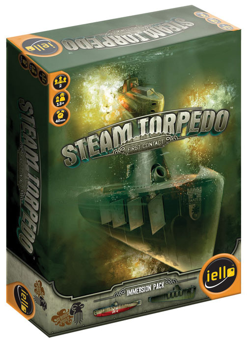 Steam Torpedo: First Contact Box Front