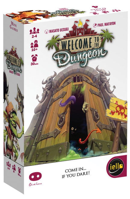 Welcome To The Dungeon Box Front