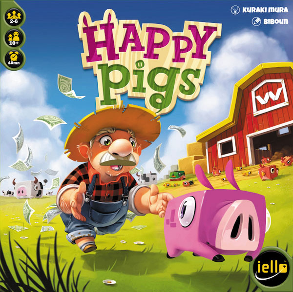 Happy Pigs Box Front