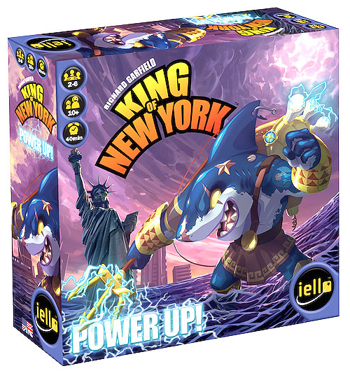 King Of New York: Power Up Expansion Box Front