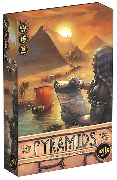 Pyramids Box Front