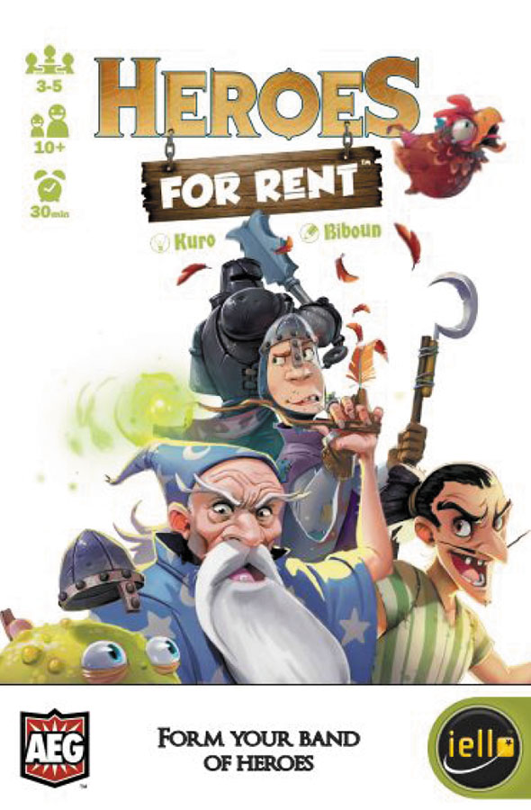 Rent-a-hero Box Front