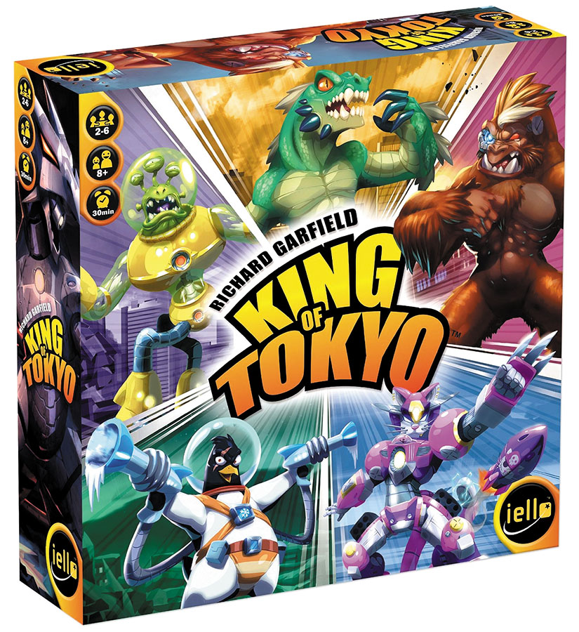 King Of Tokyo: 2016 Edition Box Front