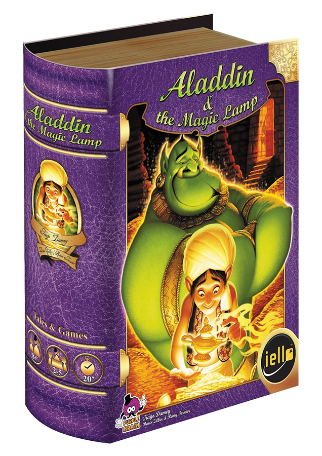 Tales & Games: Aladdin & The Magic Lamp Box Front