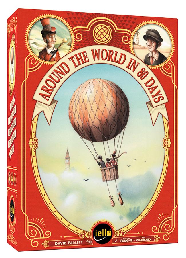 Around The World In 80 Days Box Front