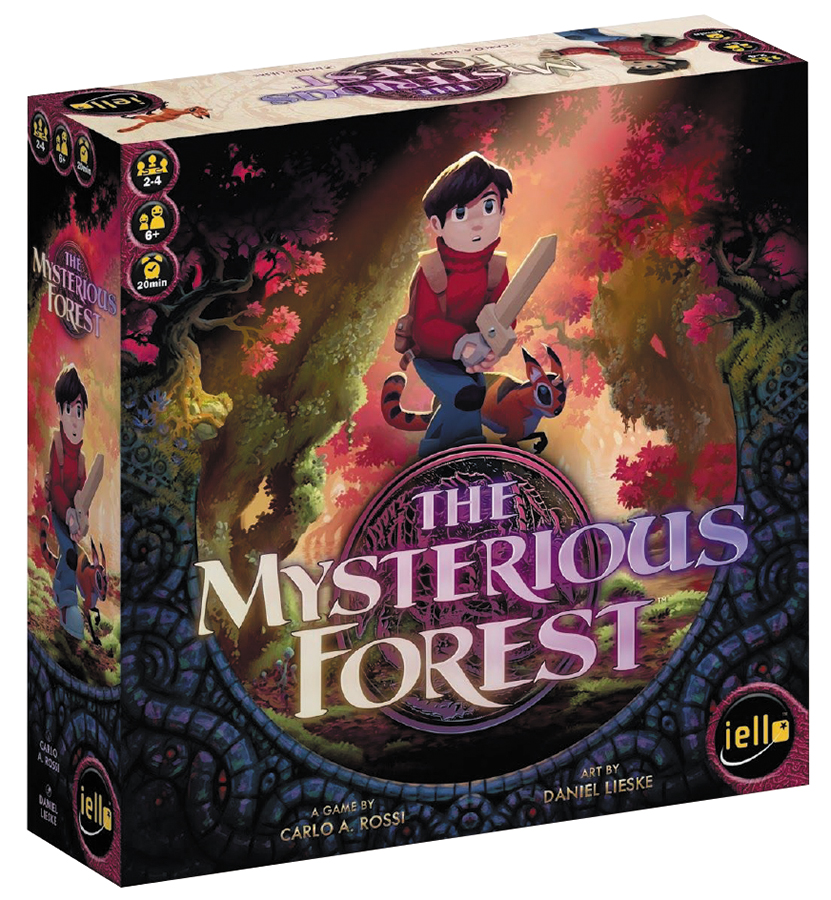The Mysterious Forest Box Front