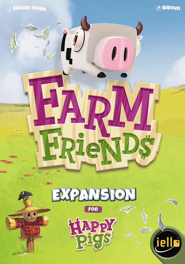 Happy Pigs: Farm Friends Box Front