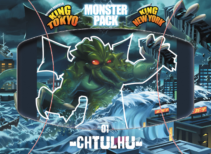 King Of Tokyo: Cthulhu Monster Pack Box Front