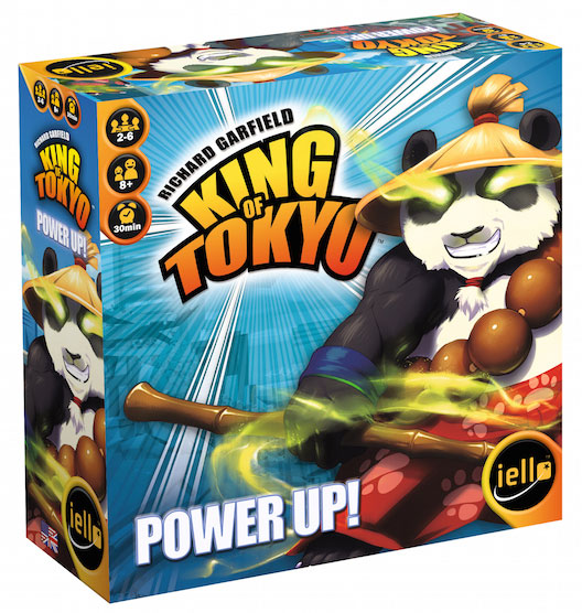 King Of Tokyo: Power Up Expansion 2017 Box Front