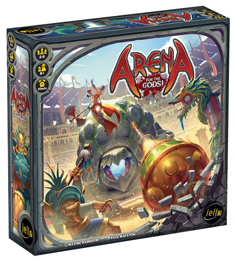 Arena: For The Gods Box Front