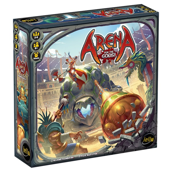 Arena: For The Gods Demo Copy Box Front