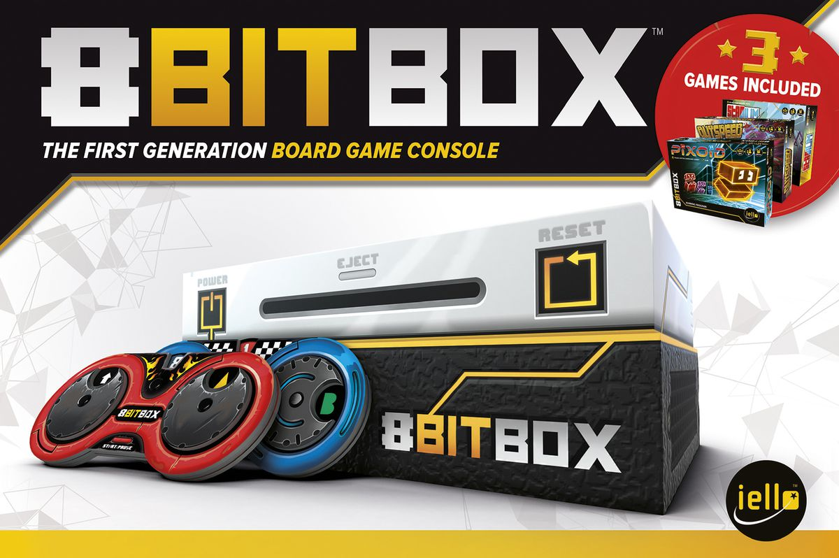 8 Bit Box Game Box