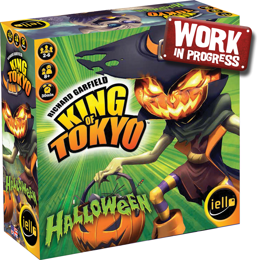 King Of Tokyo: Halloween 2017 Edition Box Front