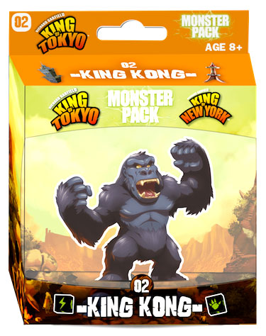 King Of Tokyo: New York King Kong Monster Pack Box Front