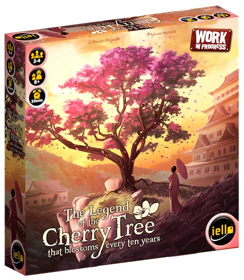 The Legend Of The Cherry Tree Box Front