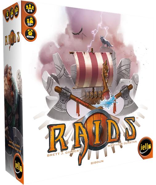 Raids Box Front