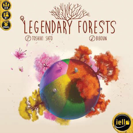 Legendary Forests Game Box