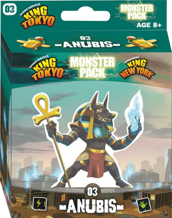King Of Tokyo: New York Anubis Monster Pack Game Box