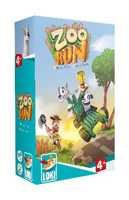 Zoo Run Game Box