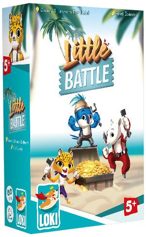 Little Battle Pre-release Copy Game Box