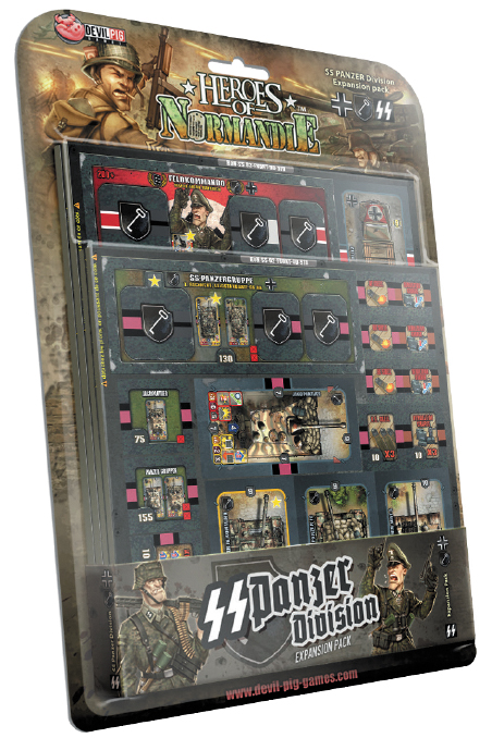 Heroes Of Normandie: Ge 1st Ss Panzer Division Box Front