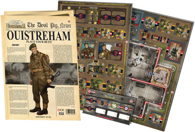 Heroes Of Normandie: Gazette 7 Box Front
